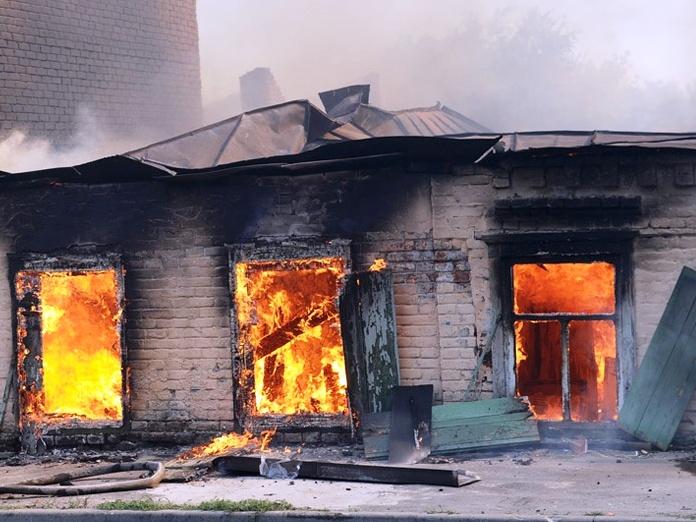 На территории Константиновского района установлен особый противопожарный режим