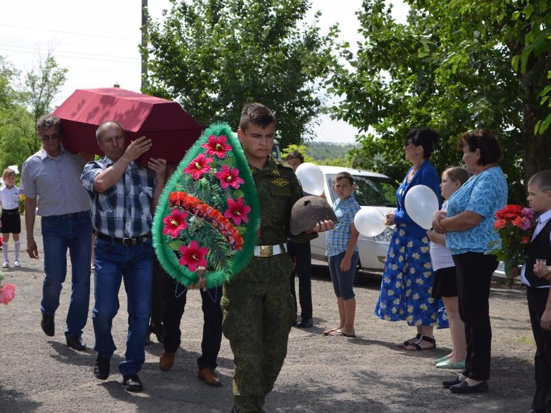 Перезахоронение в Кременском
